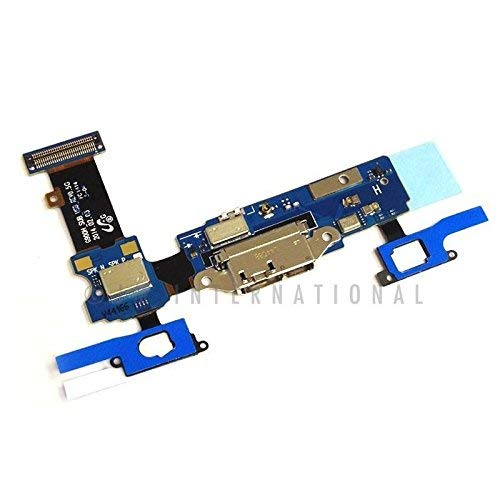 ePartSolution_USB Charger Charging Port Flex Cable Dock Connector Cover Cap + Mic for Samsung Galaxy S5 G900A G900T G900V G900P G900F G900H Replacement Part USA Seller (SM-G900H)
