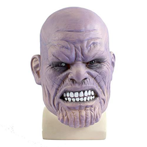 LIUHUIJUN Thanos Kinderen Maskers Diffusely Emitting Handschoen Onbeperkt Hoofddeksels Cos Thanos Iron Man Masker 8 Soorten Stijlen