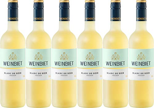 Weinbiet Manufaktur Blanc de Noir 2019 Trocken (6 x 0.75 l)