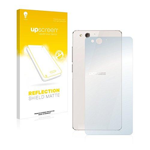 upscreen Entspiegelungs-Schutzfolie kompatibel mit Doogee Europa F3 (Rückseite) – Anti-Reflex Bildschirmschutz-Folie Matt