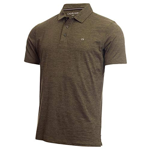Calvin Klein Męska koszulka polo 2020 Newport odprowadzająca wilgoć lekka koszulka polo golfowa