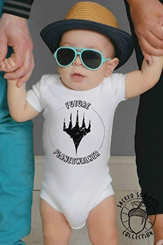 Magic the Gathering MTG Funny Baby Bodysuit Future Planeswalker