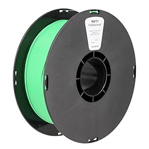 3D Printer Filament, PLA K6 Filament, Enhanced Toughness, High Strength, 1.75mm or 3.0mm, 1kg Spool-green_3.0mm