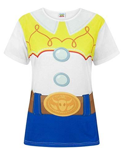 Disney Toy Story Jessie Disfraz Mujer Camiseta de Mujer Top