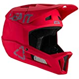 Leatt Casque MTB 1.0 DH Casco de Bici, Unisex Adulto, Rojo Chilli, Small