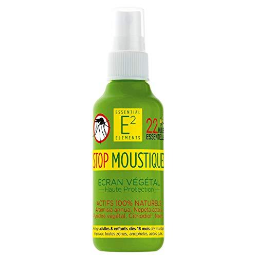 E2 Spray Anti Moustiques protecteur et apaisant 100% naturel 100% efficace Adultes et Enfants