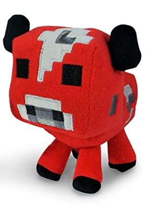 "Minecraft Baby Mooshroom Plush"" Minecraft Animal Plush Series"