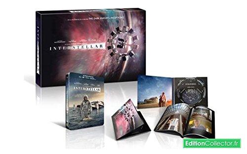Interstellar Coffret Collector - Blu-Ray Steelbook - Edition Spéciale Fnac Inclus un livret de 48 pages + la bande originale du film