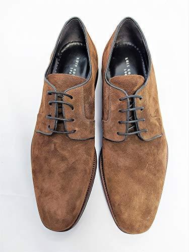 Luis Gonzalo 1966- Zapatos de Cordones en Ante 7876H (Numeric_42)