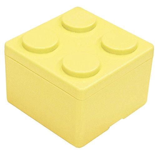 C5.ダイヤブロック ブロックコンテナM ミルキーイエロー