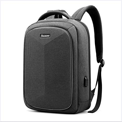 Laptop Backpack, 16 Inch Anti Theft Backpack, Waterproof Rucksack for Travel Business School with USB Charging Port,3