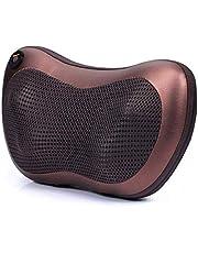 Vibrating kneading back and neck massager pillow infrared shiatsu.