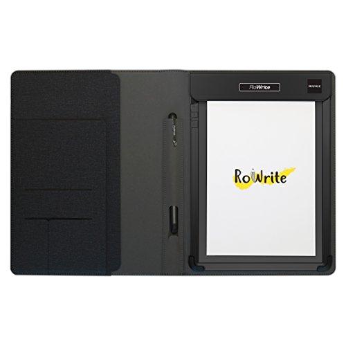 Royole RoWrite - Smart Writing Pad Digitaal Kladblok Echt Papier en Balpen voor Kantoor en Bedrijf. Omzetting naar tekst tekening schetsen met Folio en Flexible Sensor Technologie