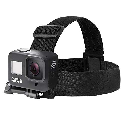 【ActyGo】 アクションカメラアクセサリー ヘッドストラップ スマホ GoPro用