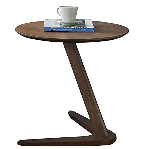 Fine Furniture Mesa Auxiliar de Roble, Sala de Estar Moderna, Mesa de Centro, sofá, Muebles de Oficina, Mesa Redonda pequeña