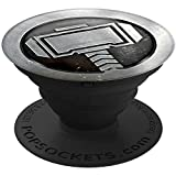 PopSockets: Collapsible Grip & Stand for Phones and Tablets - Marvel - Thor MonoChrome