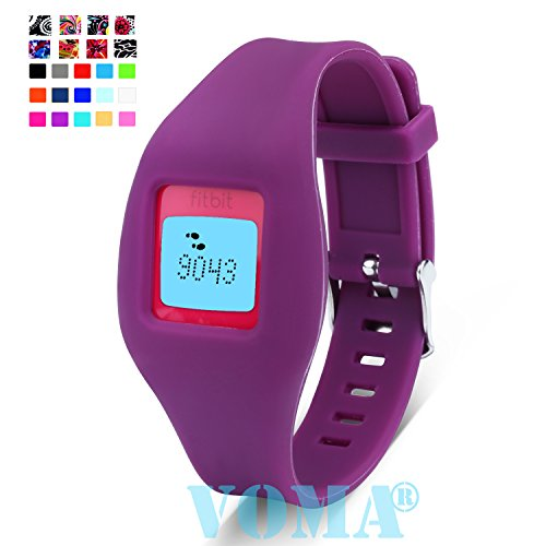 VOMA USA Fitbit Zip Wristband/Fitbit Band/Fitbit Zip Band/Fitbit Wristband/Fitbit Bracelet/Fitbit Zip Replacement Band(Plum)