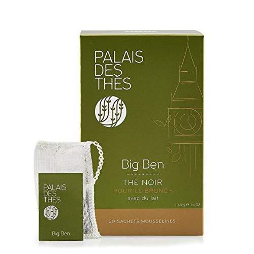 Palais des Thés, Signature Tea Blends Collection, Big Ben Breakfast (Single Estate English Breakast) - 20 Teabags