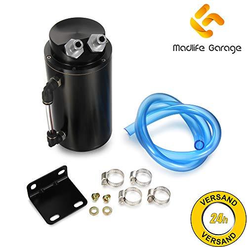 Madlife Garage Universal 480cc Oil Tank Öl Auffangbehälter Ölsammler Ölsammelbehälter Ölbehälter