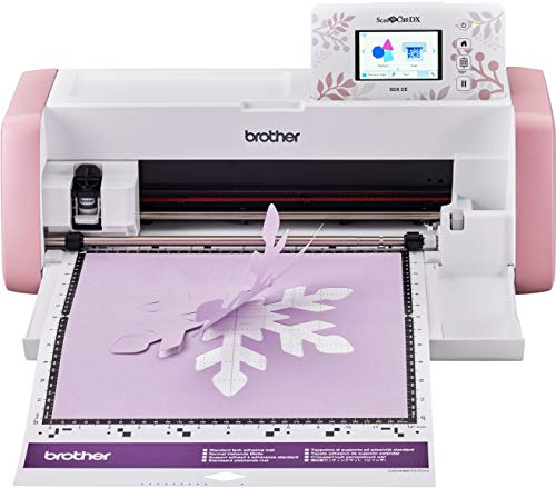 Brother SDX CE (Creative Edition) - ScanNCut, Macchina da Taglio con Scanner Wireless per Hobby...