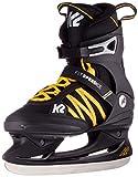 K2 Skates F.I.T. Speed Ice, Zapatillas de Hockey de Campo Hombre, Negro, Naranja, 41.5 EU