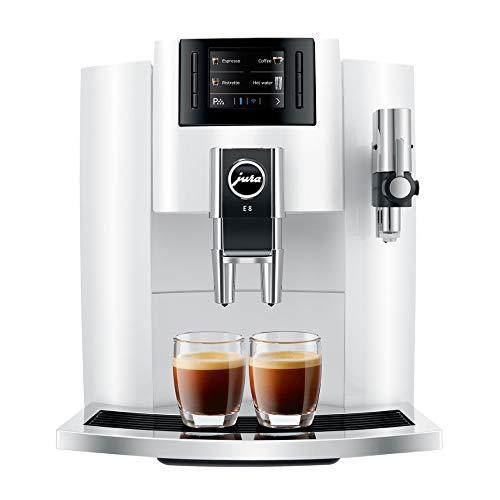 Jura E8 Espresso Coffee Machine (White)