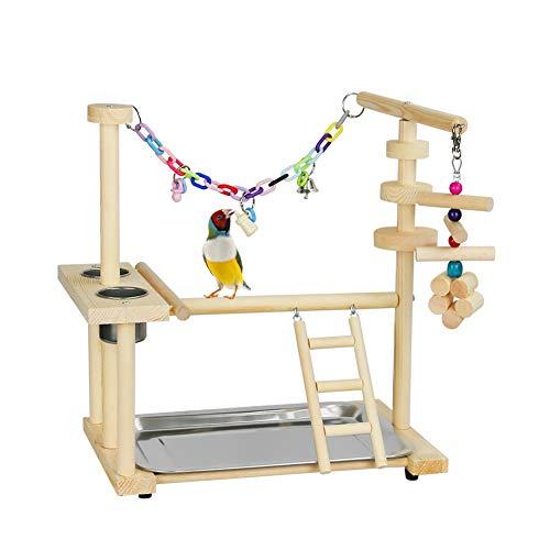 Exttlliy Parrots Bird Playground Birdcage Playstand Play Gym...