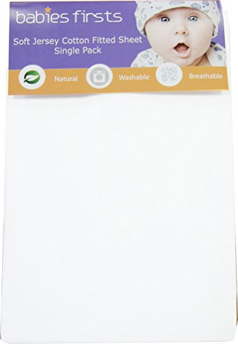 Babies Firsts Drap de coton jersey Single Pack (95 x 65 cm)