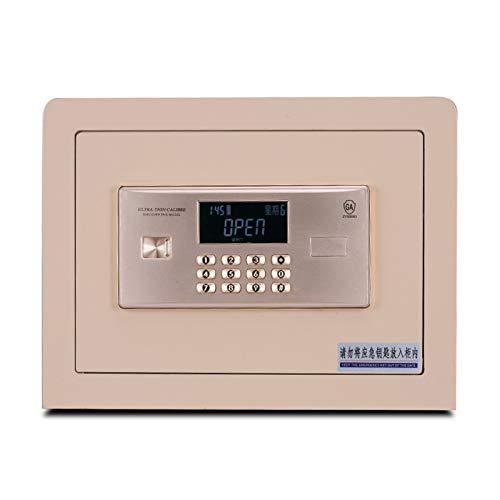 ZXNRTU Cajas de seguridad para el hogar, Caja fuerte | 35.5X30X26.8Cm Digital Lock Caja fuerte |Inicio acero de la combinación de seguridad electrónica con teclado |Teclas de modificación manuales |pa