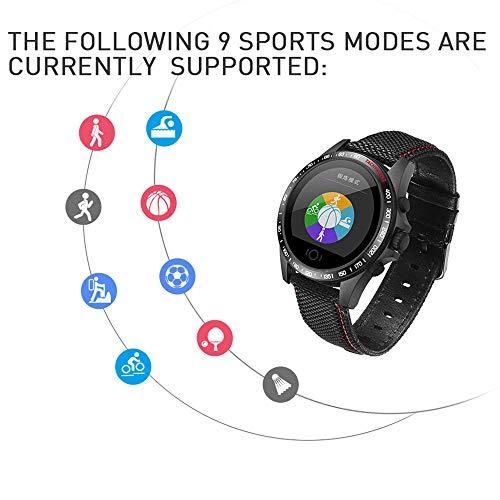 Ledu Sport Smart Watch, Mode Bluetooth Multi-Funktion Schlafen Blutdruck-Test-Wasserdichtes Armband