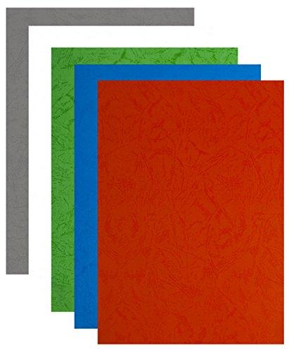 Pavo 8005253 Couverture de reliure en cuir Structure, DIN A4, bleu foncé