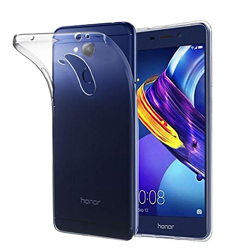 ebestStar - Cover Compatibile con Huawei Honor 6C PRO Custodia Trasparente Silicone Gel TPU Protezione Morbida e Sottile, Trasparente [Apparecchio: 147.9 x 73.2 x 7.7mm, 5.2'']