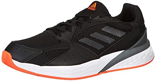 adidas Response Run, Road Running Shoe Hombre, Core Black/Carbon/Iron Metallic, 44 EU