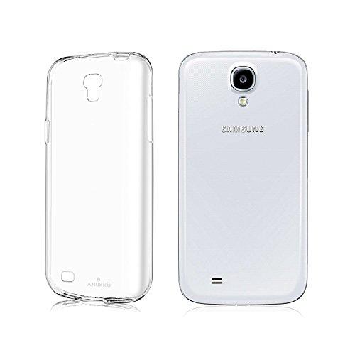 Anukku Custodia Cover Ultra Fina Trasparente Morbida in Air Gel per Samsung Galaxy S4 i9500