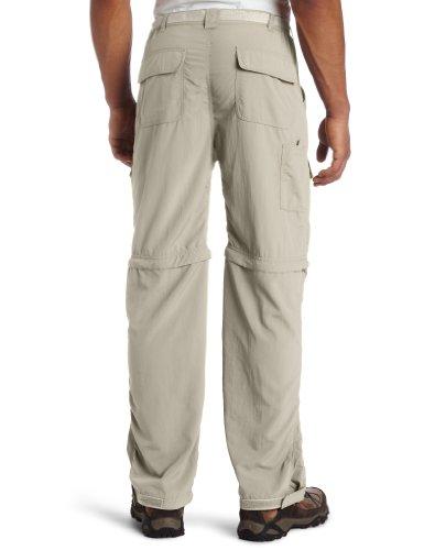 Blanc Sierra Trail 81,3cm Entrejambe Pantalon Convertible pour Homme Large Stone