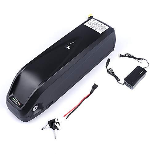 Junstar-EU Hailong 36V 17.4Ah batería Bicicleta eléctrica de Litio Compatible con Motor Central BBS
