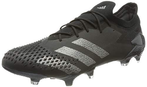 adidas Predator Mutator 20.1 L Firm Ground, Zapatillas de fútbol Hombre, Cblack Silvmt, 41 1/3 EU