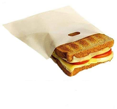 Anlising – Bolsa de Horno Resistente al Calor, Antiadherente, para tostadora, Reutilizable, Antiadherente (6 Unidades)