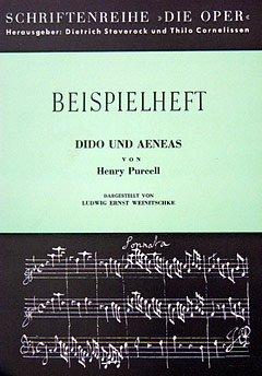 PURCELL - DIDO UND AENEAS - arrangiert für BEISPIELHEFT [Noten / Sheetmusic] Komponist: WEINITSCHKE L E aus der Reihe: DIE OPER - BEISPIELHEFT