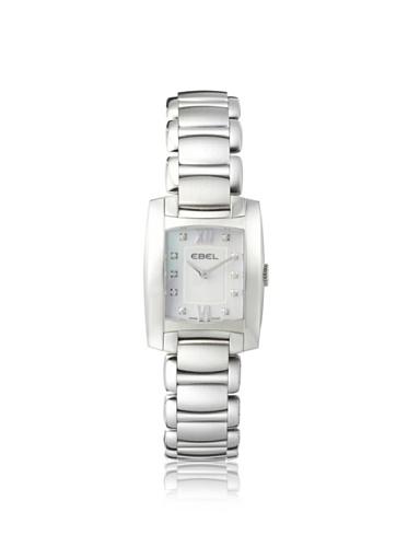 Ebel Women's 1215605 Brasilia White Stainless Steel Watch