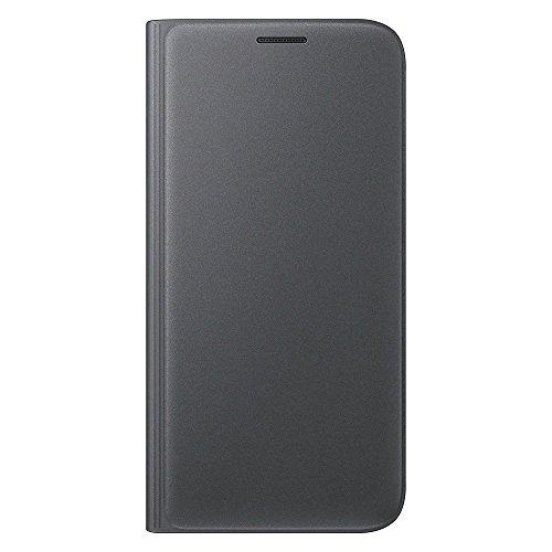 Samsung Flip Wallet Schutzhülle (geeignet für Galaxy S7) schwarz