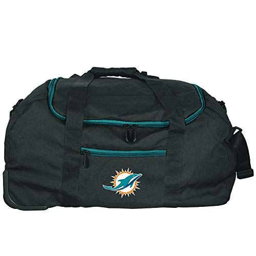 NFL Miami Dolphins Mini Collapsible Duffel, 22-inches Michigan