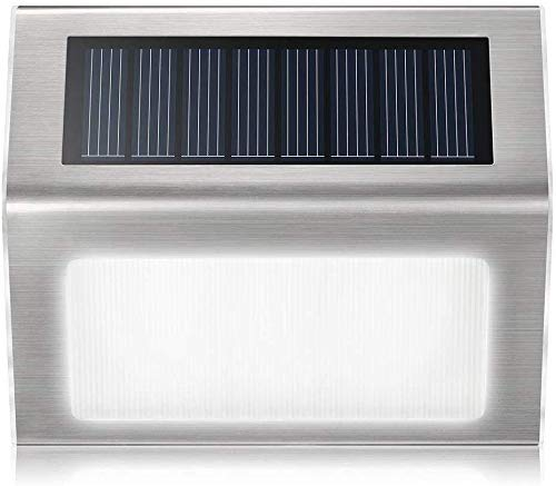 YONGYONGCHONG Semaforo - Batería recargable de iones de litio con sensor de movimiento solar, impermeable, luminoso, excelente altura de instalación de 10 x 8 cm, luz del patio