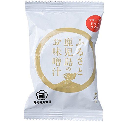 吉村醸造サクラカネヨ ふるさと鹿児島のお味噌汁 フリーズドライ 豚汁 16.3g
