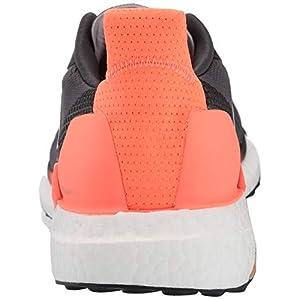 adidas Men's Solar Glide 19 M Running Shoe, Grey/White/Signal Coral, 9