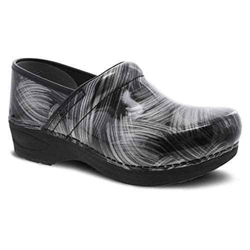Dansko Women's XP 2.0 Pewter Brush Clogs 8.5-9 M US
