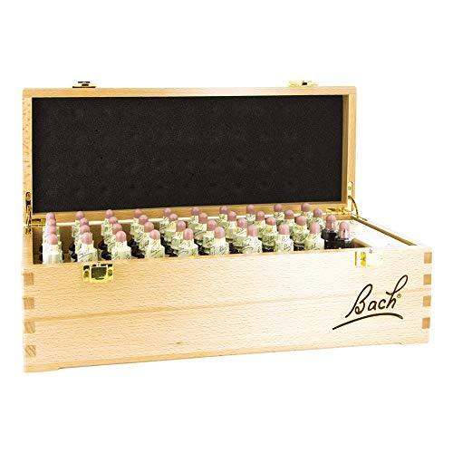 Apotheker Bauer & Cie (Distribución) Bach Flower Remedies Set, Wooden, 40 x 20 ml, Set Flores de Bach en Caja de Madera