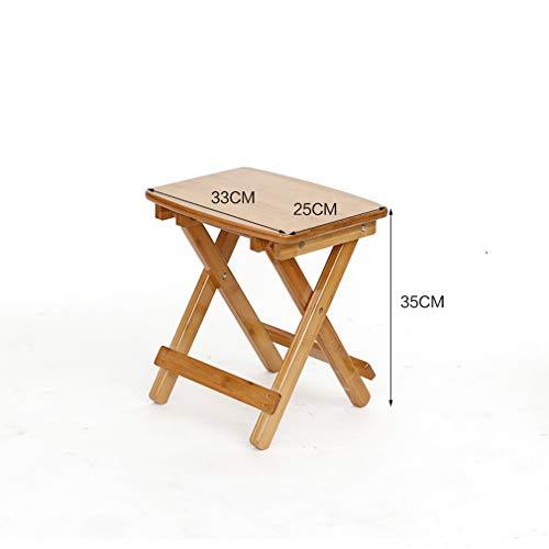 F-S-B Natural Bamboo Folding houten kruk voor voetsteun draagbare houten voetsteun voor keuken voor kinderen en volwassenen