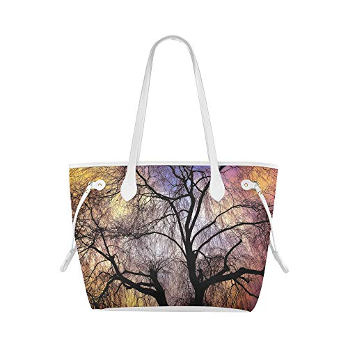 Beach Tote Bag Willow Willow Willow Tree Branch Bare Tree Wo