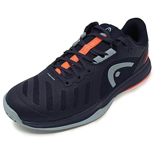 HEAD Sprint Team 3.0 2021 Men, Tennis Shoe Hombre, Azul Oscuro Rojo Neón, 41 EU
